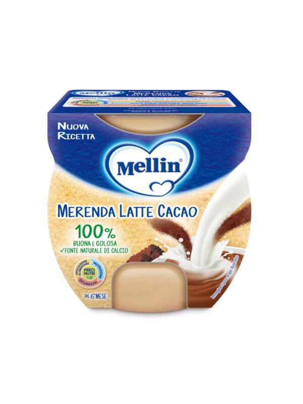 MELLIN - Merenda latte cacao 2x100 gr - MELLIN - Yogurt e budini per bambini