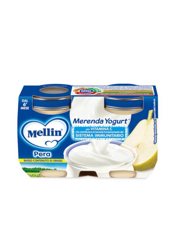 MELLIN Merenda yougurt pera 2x120 gr - MELLIN - Yogurt e budini per bambini