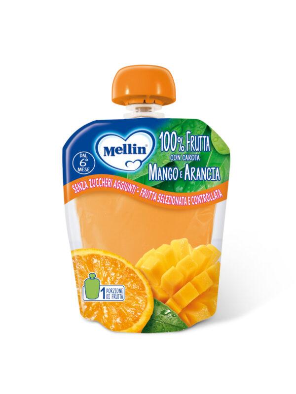 MELLIN - Pouch arancia mango 90 gr - MELLIN - Merende da bere