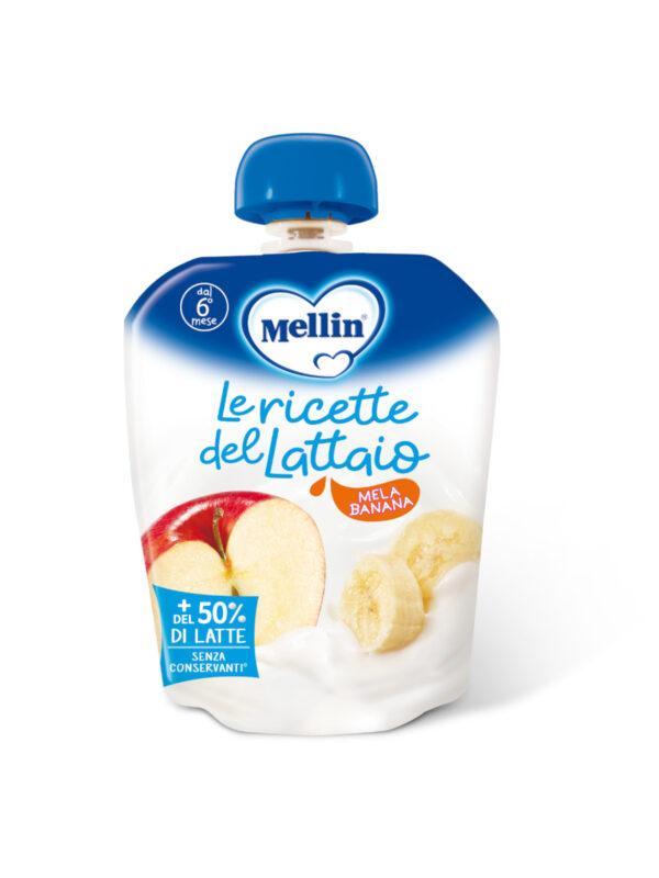 MELLIN - Pouch latte mela banana 85 gr - MELLIN - Merende da bere