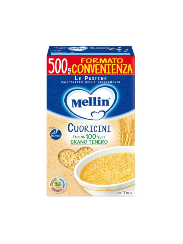 MELLIN - Pastina cuoricini 500 gr - MELLIN - Pastine per bambini