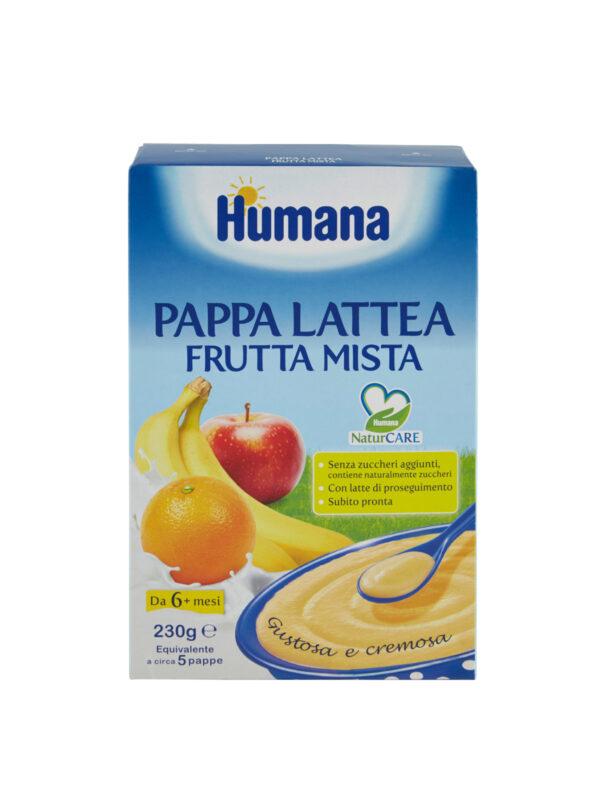 HUMANA Pappa lattea frutta mista 230 gr - HUMANA - Creme e Pappe Lattee