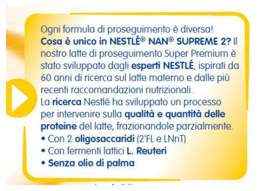 NESTLE' - Latte Nan Supreme 2 800 gr - NESTLE' - Latte 2