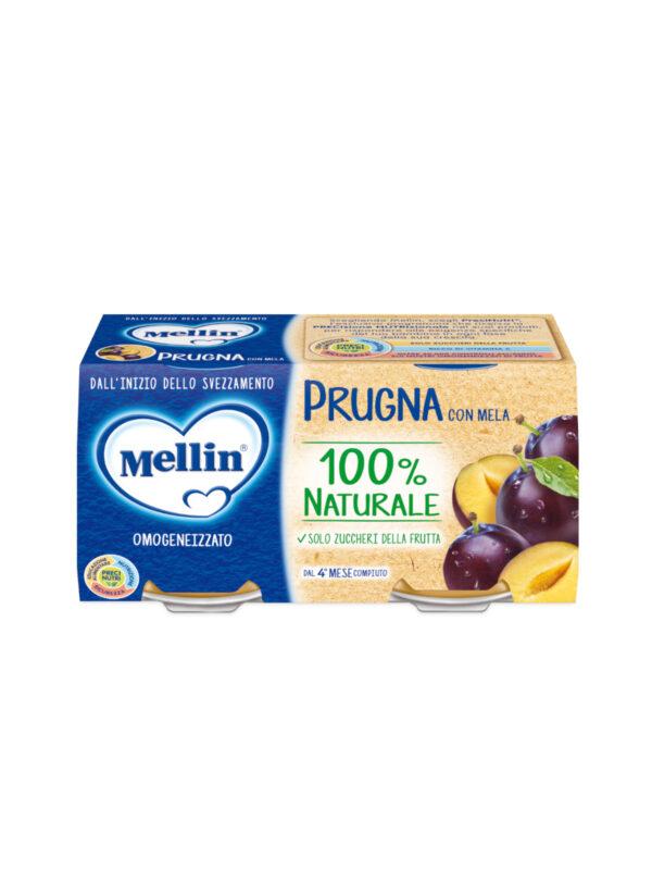 MELLIN Omogeneizzato prugna  2x100 gr - MELLIN - Omogeneizzato frutta
