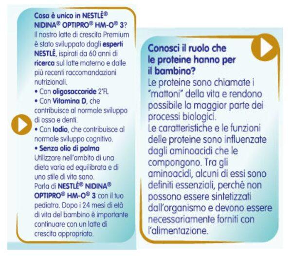 NESTLE' - Nidina 3 100 ml - NESTLE' - Latte crescita 3-4-5