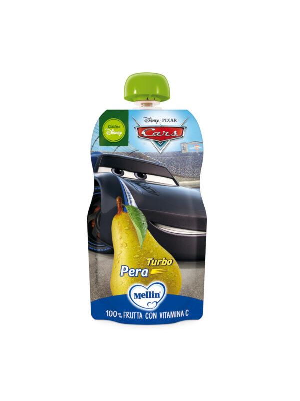 MELLIN - -Pouch disney cars pera  110 gr - MELLIN - Merende da bere