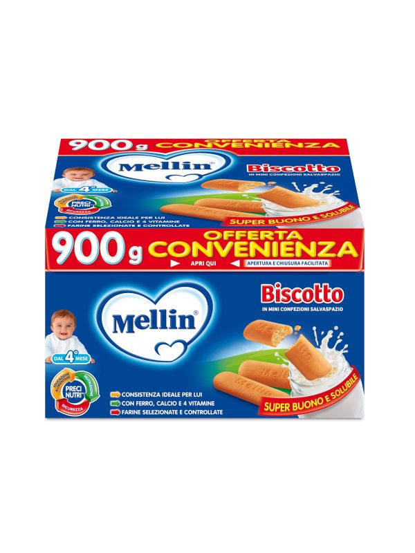 MELLIN Biscotto intero 900 gr - MELLIN - Biscotti per bambini