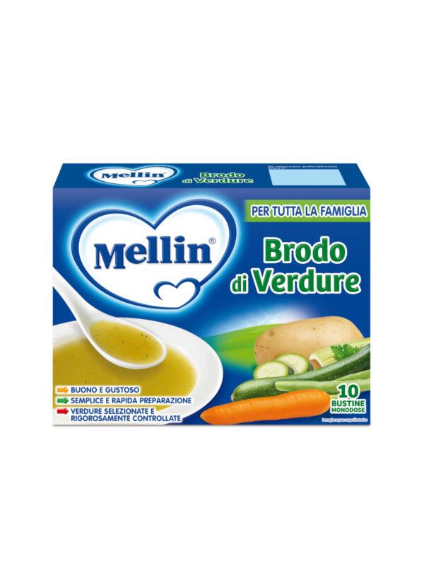 MELLIN Brodo di verdure 10x8 gr - MELLIN - Brodi e passati per bambini