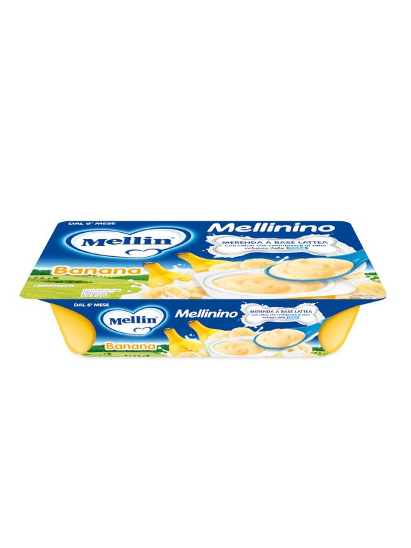 MELLIN Mellinlino banana 330 gr - MELLIN - Yogurt e budini per bambini