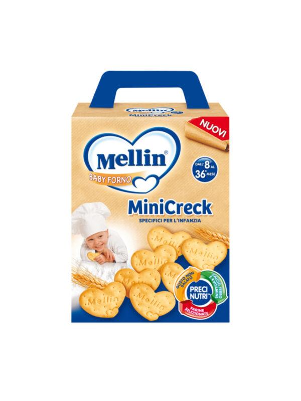 MELLIN Mellin Minicrek 180 gr - MELLIN - Snack per bambini