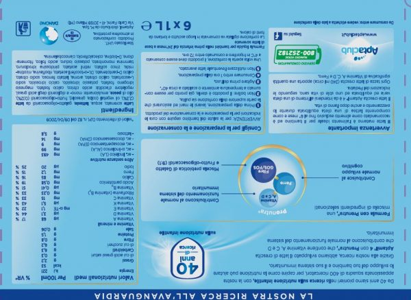 APTAMIL - Aptamil Crescita 4 6x1 lt - APTAMIL - Latte crescita 3-4-5