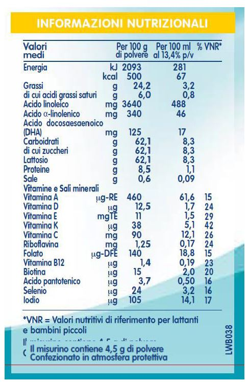 NESTLE' - Nidina Crescita 4 800 gr - NESTLE' - Latte crescita 3-4-5