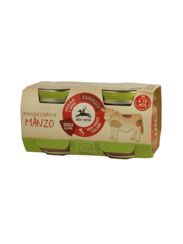 Omogeneizzato di manzo Baby Food Bio Alce Nero 80g*2 - Alce Nero - Omogeneizzato carne