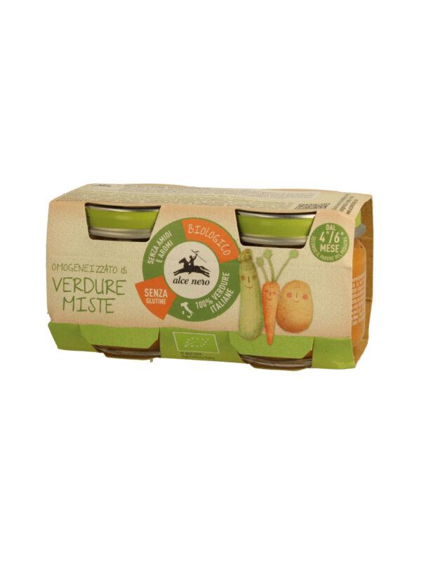 Omogeneizzato verdure miste Baby Food Bio Alce Nero 80g*2 - Alce Nero - Omogeneizzato verdure