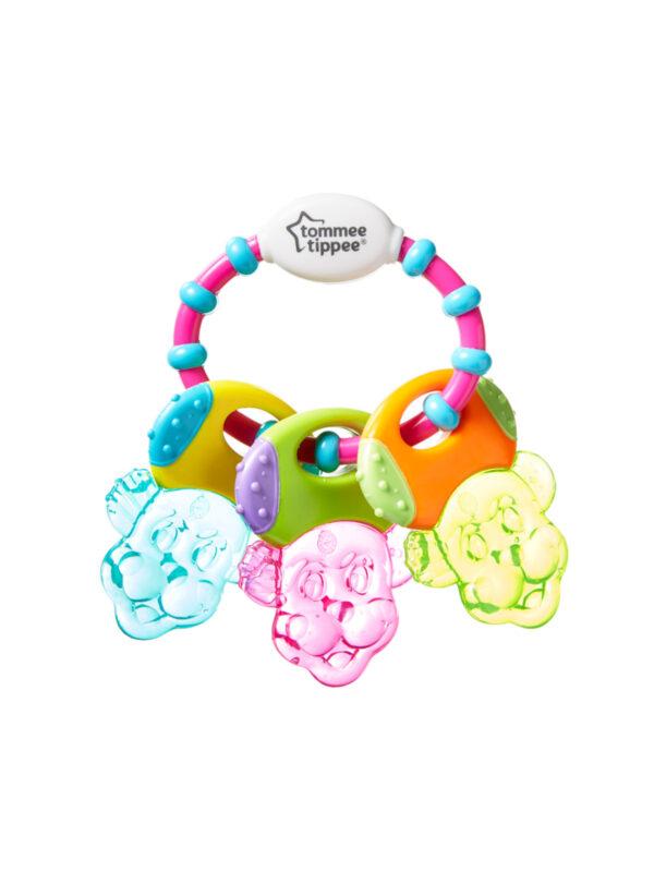 Chiavi massaggiagengive con gel <strong>Colori assortiti</strong> - TOMMEE TIPPEE - Cura e cosmesi bambino