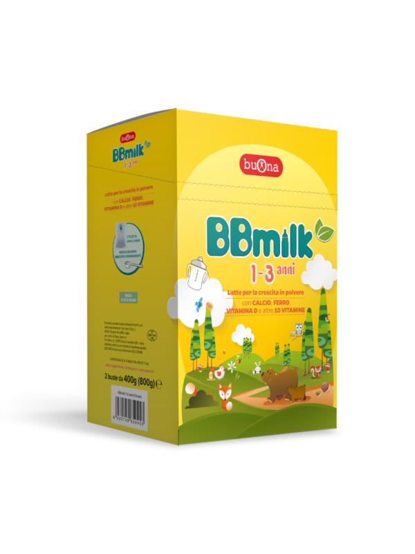 BBmilk 1-3 anni polvere 800 g - BUONA - Latte crescita 3-4-5