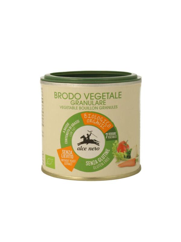 Brodo vegetale granulare Bio Alce Nero 120g - Alce Nero - Brodi e passati per bambini
