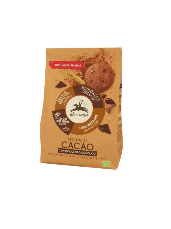 Frollino al cacao con gocce cioccolato Bio Alce Nero 300g - Alce Nero - Biscotti per bambini