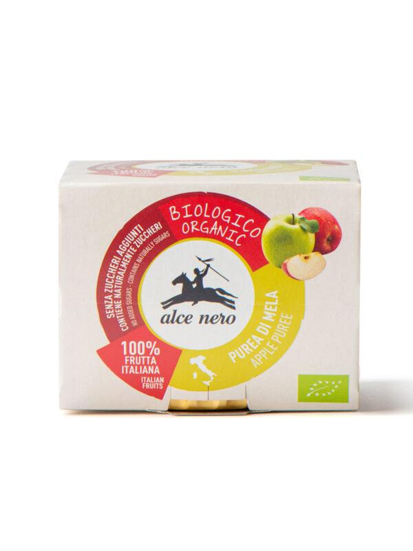 Purea di mele Bio Alce Nero 2x100g - Alce Nero - Frutta frullata