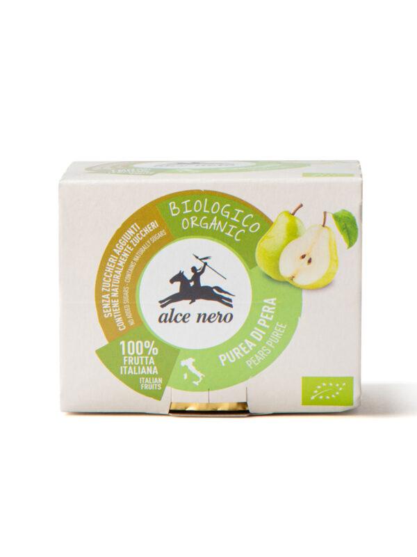 Purea di pera Bio Alce Nero 2*100g - Alce Nero - Frutta frullata