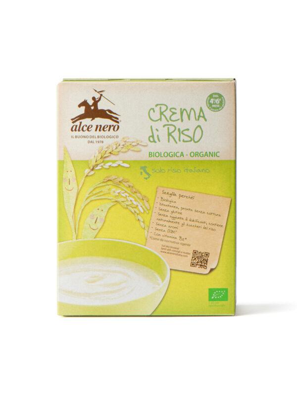 Crema di riso Baby Food Bio Alce Nero 250g - Alce Nero - Creme e Pappe Lattee