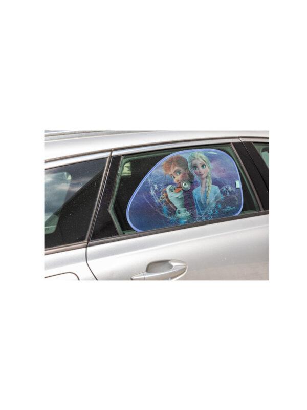Tendine laterali trapezio Disney Frozen 2 65x38 cm - 2 pezzi - DISNEY - Accessori per Auto