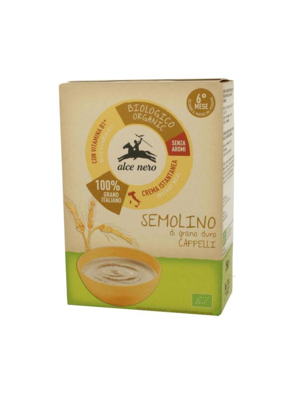 Semolino di grano duro Baby Food Bio Alce Nero 250g - Alce Nero - Creme e Pappe Lattee