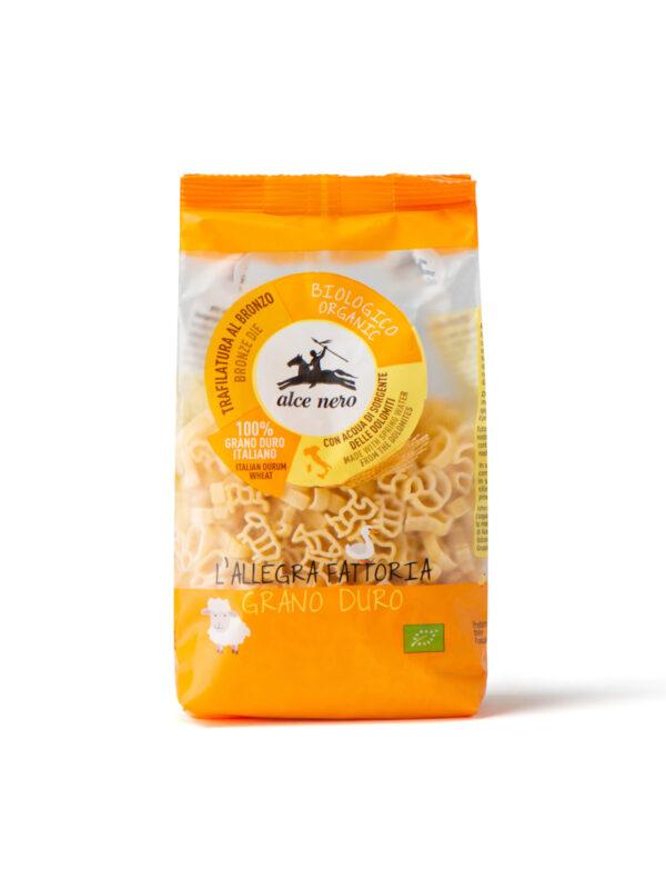 Animali fattoria semola Bio Alce Nero 250g - Alce Nero - Pastine per bambini