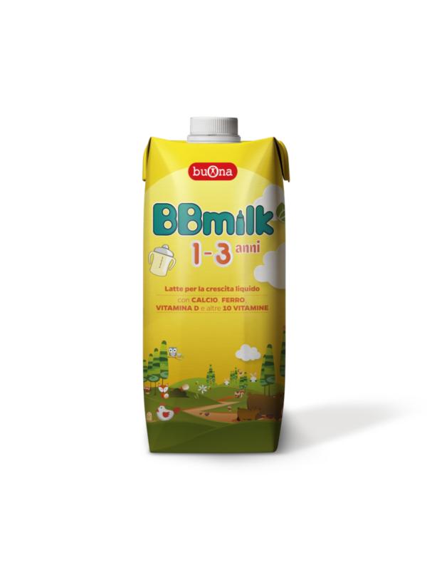BBmilk 1-3 anni liquido 500 ml - BUONA