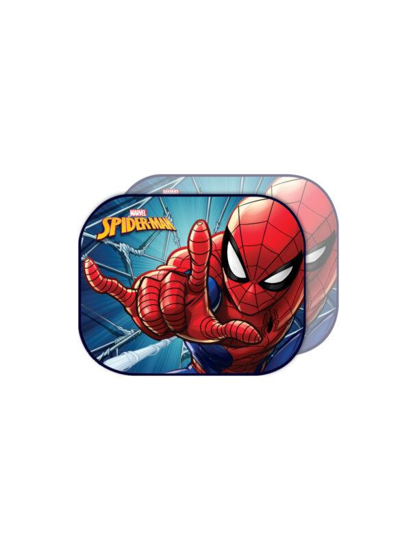 Tendine laterali Marvel Spiderman 44x35 cm - 2 pezzi - MARVEL - Accessori per Auto
