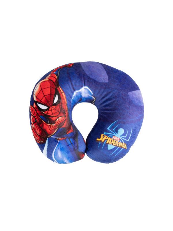 Cuscino da viaggio Marvel Spiderman 27x23x9 cm - MARVEL - Accessori per Auto
