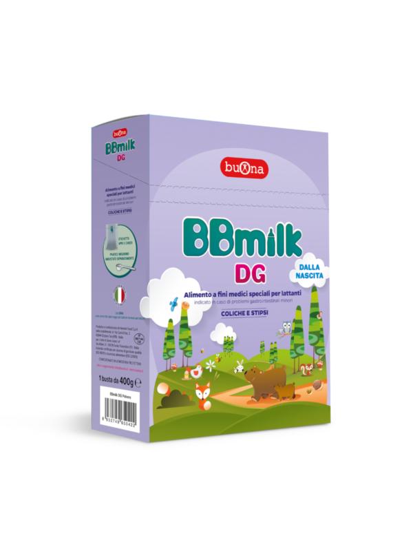 Bbmilk DG polvere 400 g - BUONA - Latti speciali