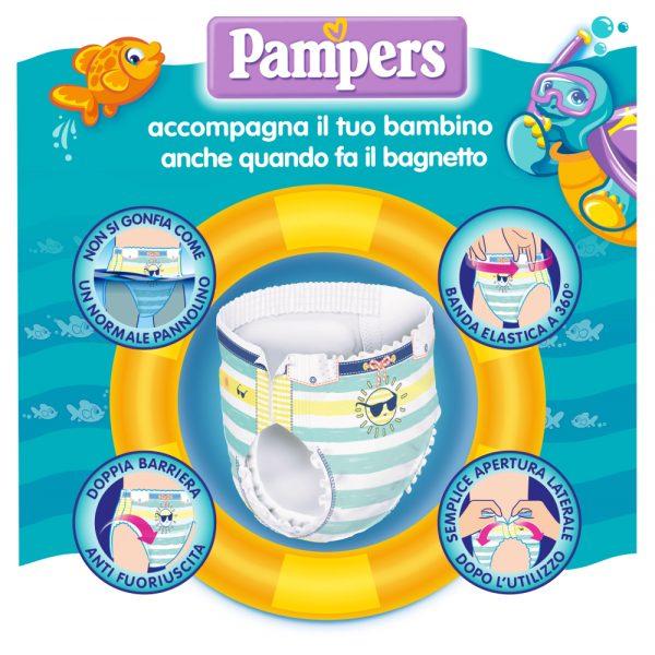 Pampers il Costumino Taglia 3 (6-11 kg) - 12 pz - Pampers - Taglia 3 (4-9 kg)