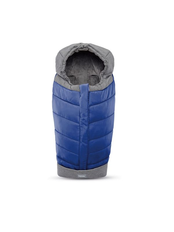 Inglesina Stroller Winter Muff, Sacco Invernale per passeggino, Royal Blue - INGLESINA - Basi Auto e Accessori seggiolini