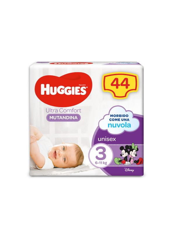 MUTANDINA GRANDE TG.3 - HUGGIES - Taglia 3 (4-9 kg)