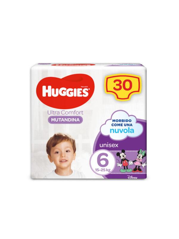 MUTANDINA GRANDE TG.6 - HUGGIES - Taglia 6 (15-30 Kg)