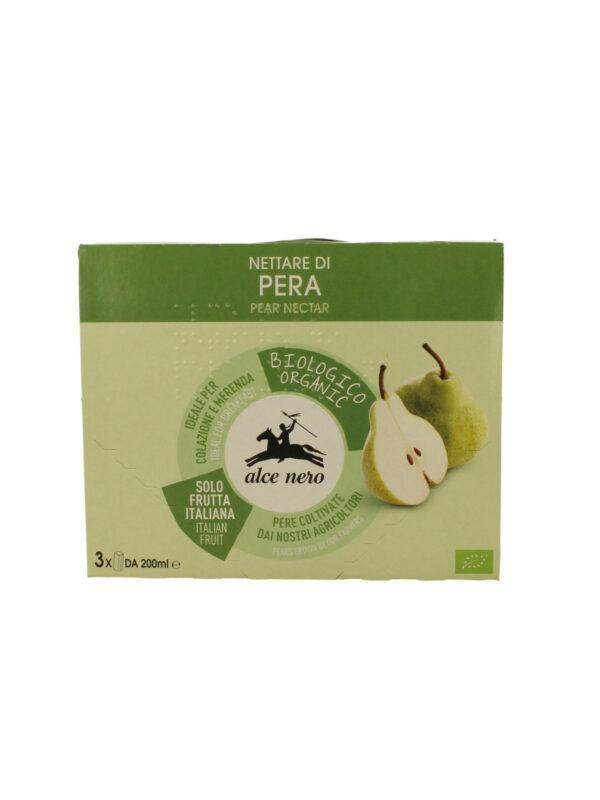 Nettare di pera Bio Alce Nero 200x3 ml - Alce Nero - Merende da bere