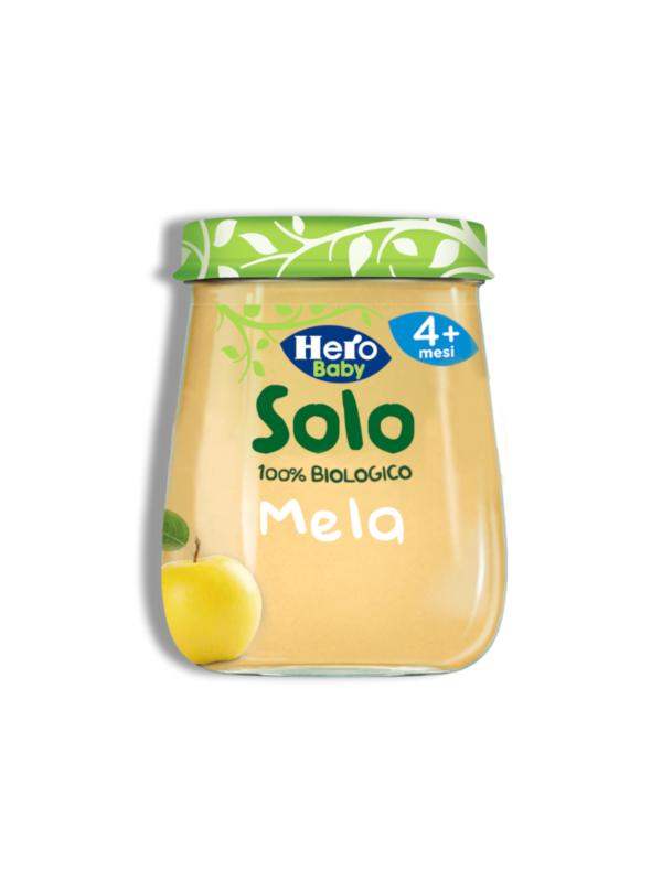 Omogeneizzato Mela 120 gr - Hero Solo - Omogeneizzato frutta