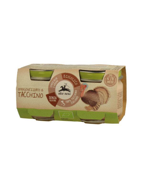 Omogeneizzato di tacchino Baby Food Bio Alce Nero 80g*2 - Alce Nero - Omogeneizzato carne
