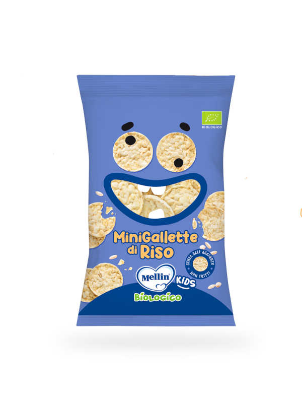 MELLIN - Gallette di riso 30 gr - MELLIN - Snack per bambini