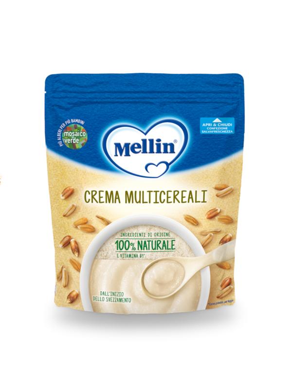 MELLIN  Crema multicereali 200 gr - MELLIN - Creme e Pappe Lattee