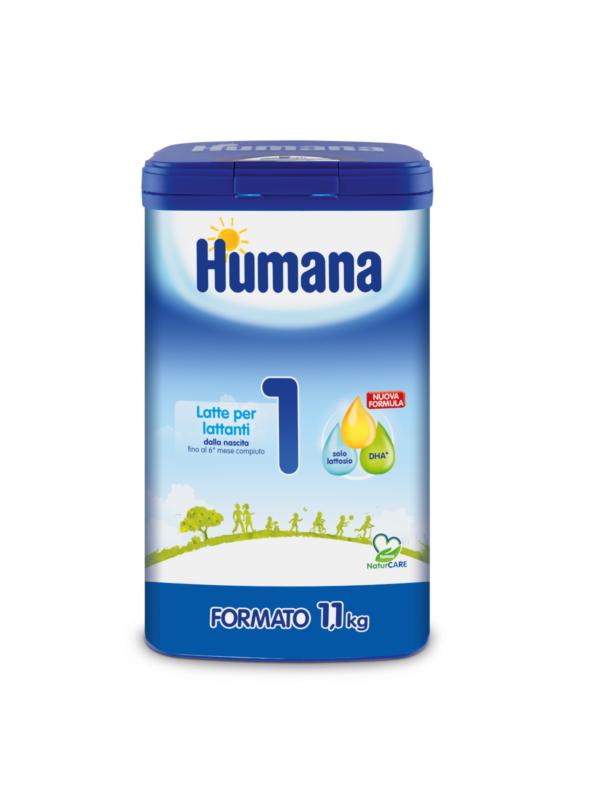 HUMANA Latte 1 polvere 1100 gr - HUMANA - Latte 1