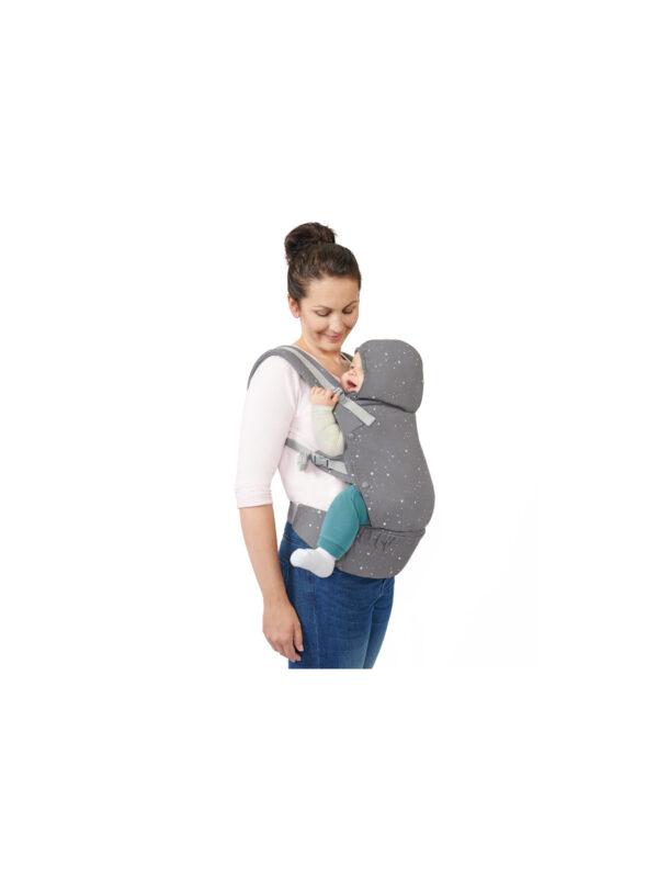 Kinderkraft Marsupio HUGGY grey - KinderKraft - Kinderkraft