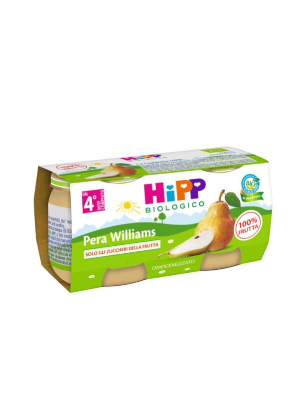 Omogeneizzato Pera Willams 100% 2x80g - HiPP - Omogeneizzato frutta