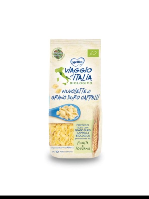 MELLIN - Bio pasta Nuvolette  di grano duro cappelli 250 gr - MELLIN - Pastine per bambini