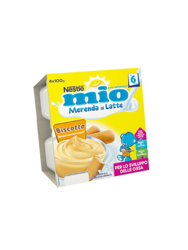 NESTLE' - Merenda lattea biscotto 4x100 gr - NESTLE'