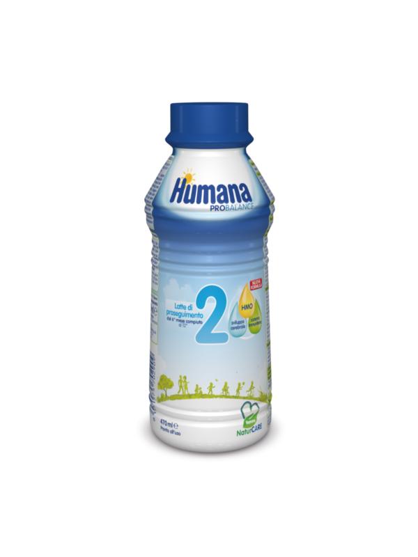 HUMANA Latte 2 liquido 470 ml - HUMANA - Latte 2