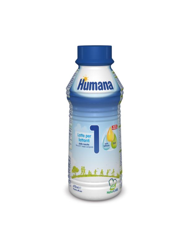HUMANA  Latte 1 liquido 470 ml - HUMANA - Latte 1