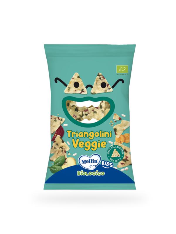 MELLIN Triangolini veggie 30 gr - MELLIN - Snack per bambini