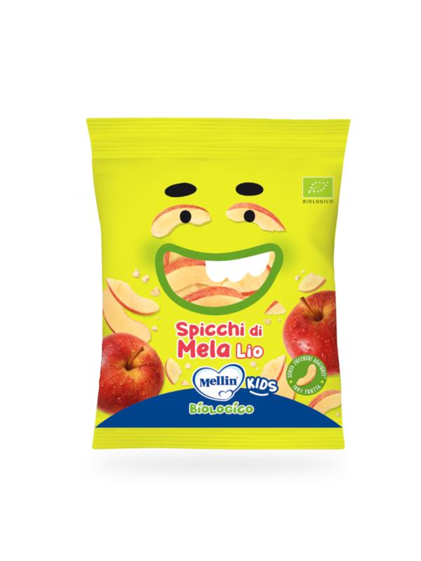 MELLIN - Spicchi di mela liofilizzata 10 gr - MELLIN - Snack per bambini